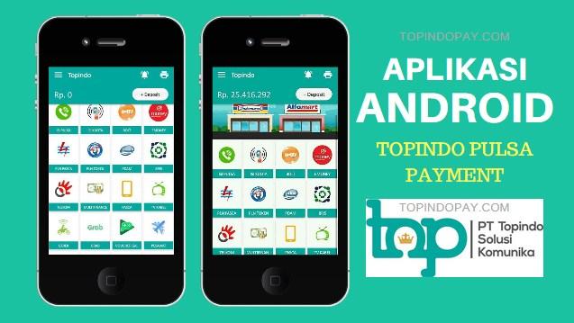 Aplikasi Android Topindo Pulsa Payment