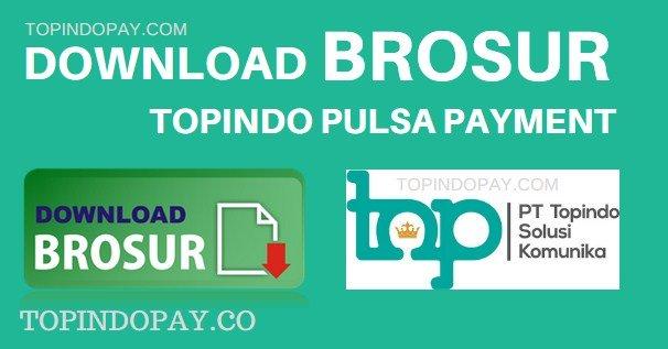 Brosur Topindo pulsa Payment
