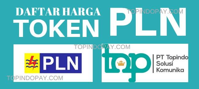Token PLN Topindo Pulsa Payment
