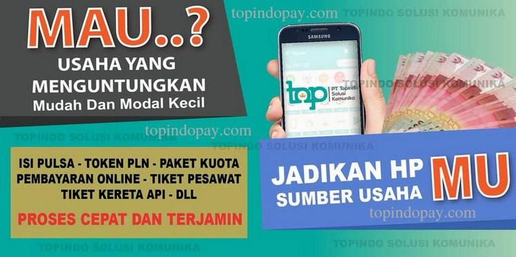 Telegram Topindo pulsa Payment
